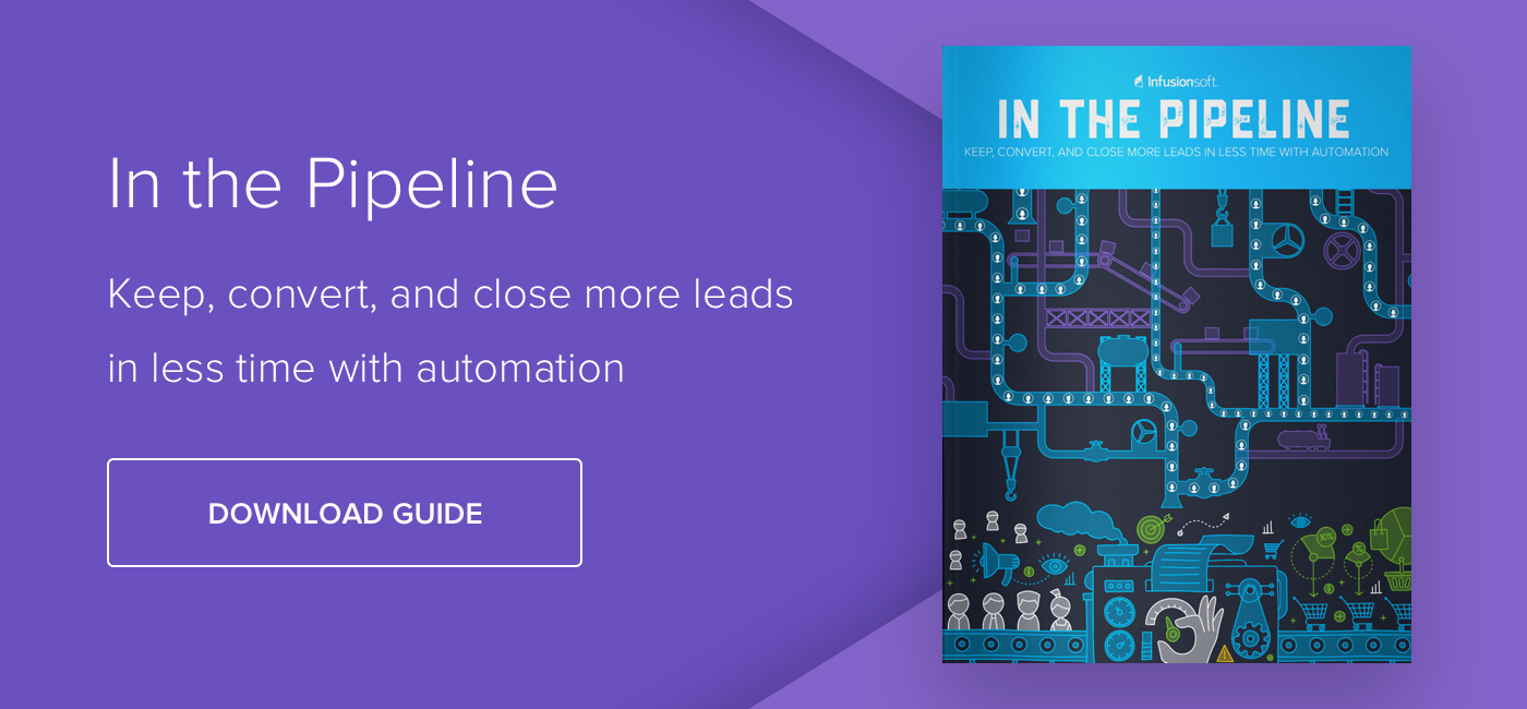 In the Pipeline: Keep, Convert, and Close More Leads in Less Time with Automation - Download Now