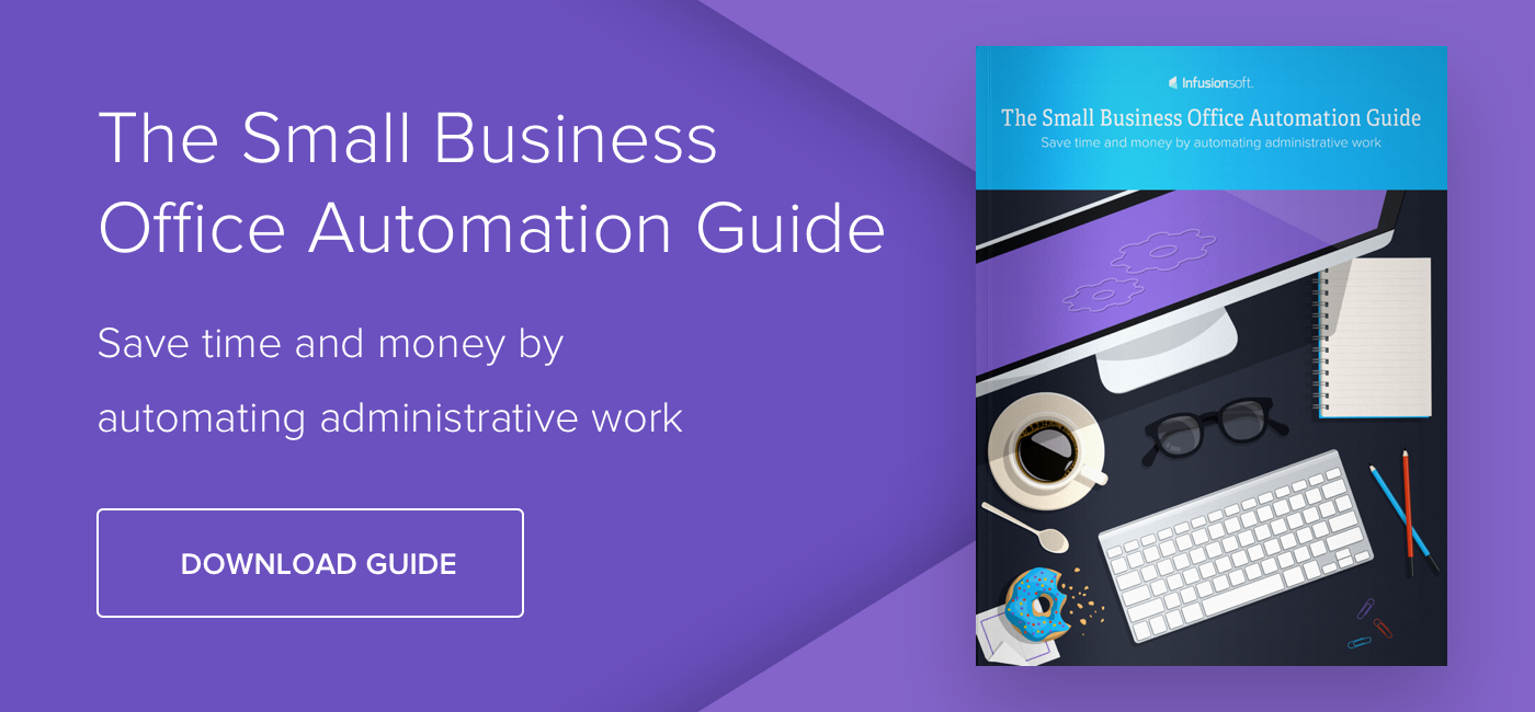 The Small Business Office Automation Guide - Download Now