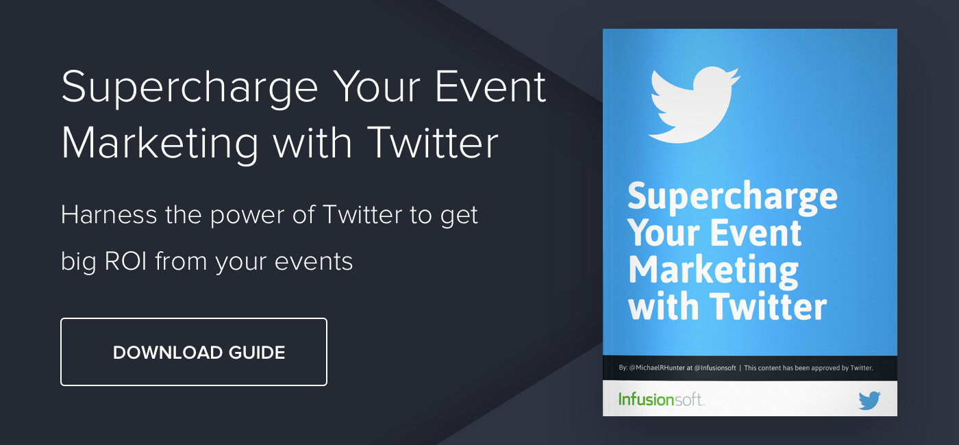 Supercharge Your Event Marketing with Twitter - Download Now