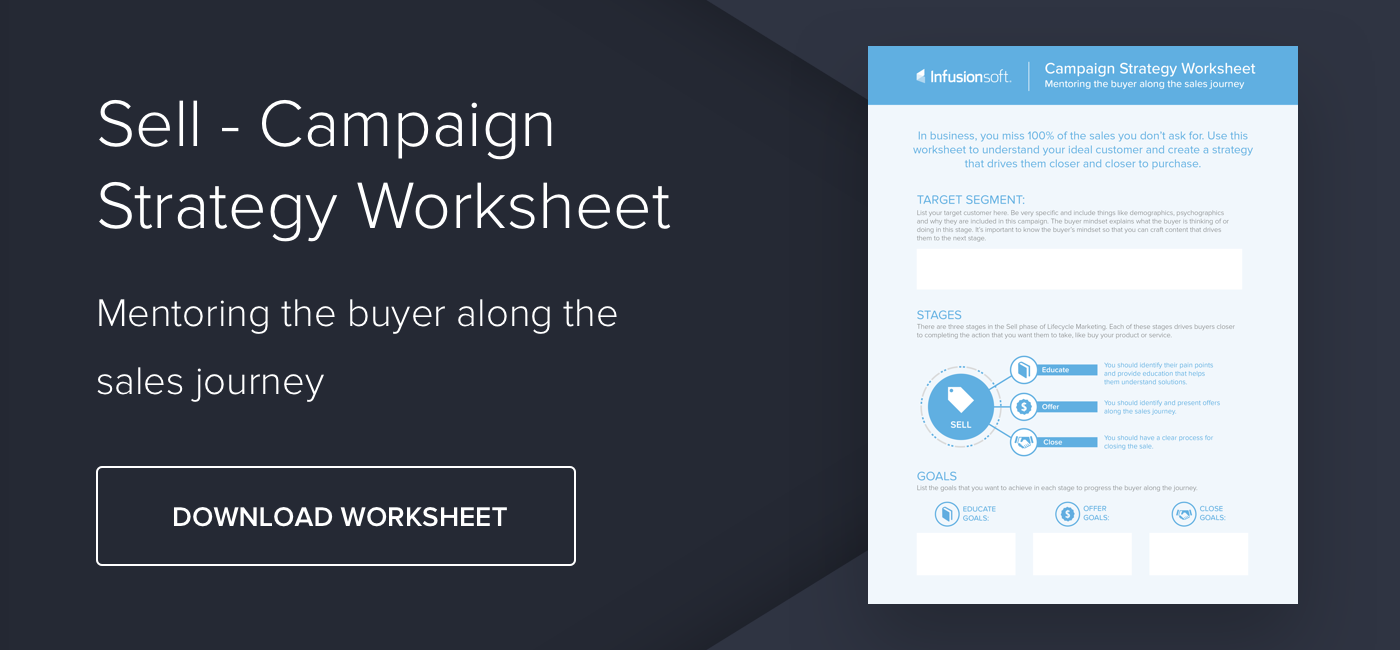 Worksheet: Creating a campaign strategy - Download Now