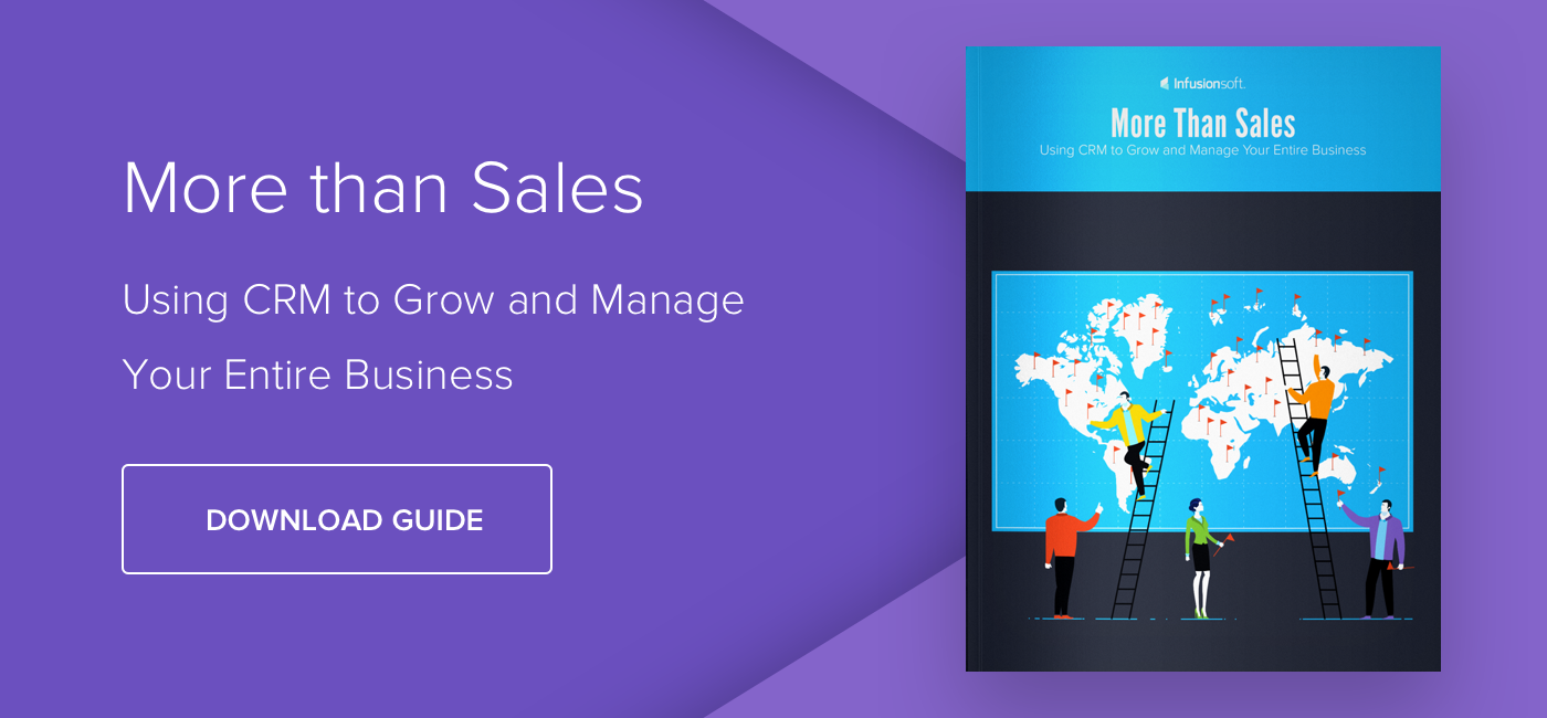 More than Sales: Using CRM to Grow and Manage Your Entire Business - Download Now