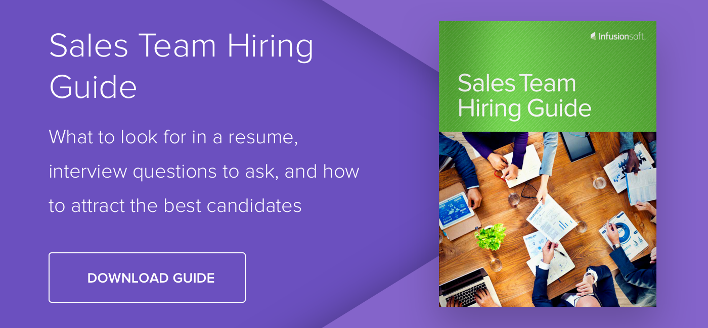 Sales Team Hiring Guide - Download Now