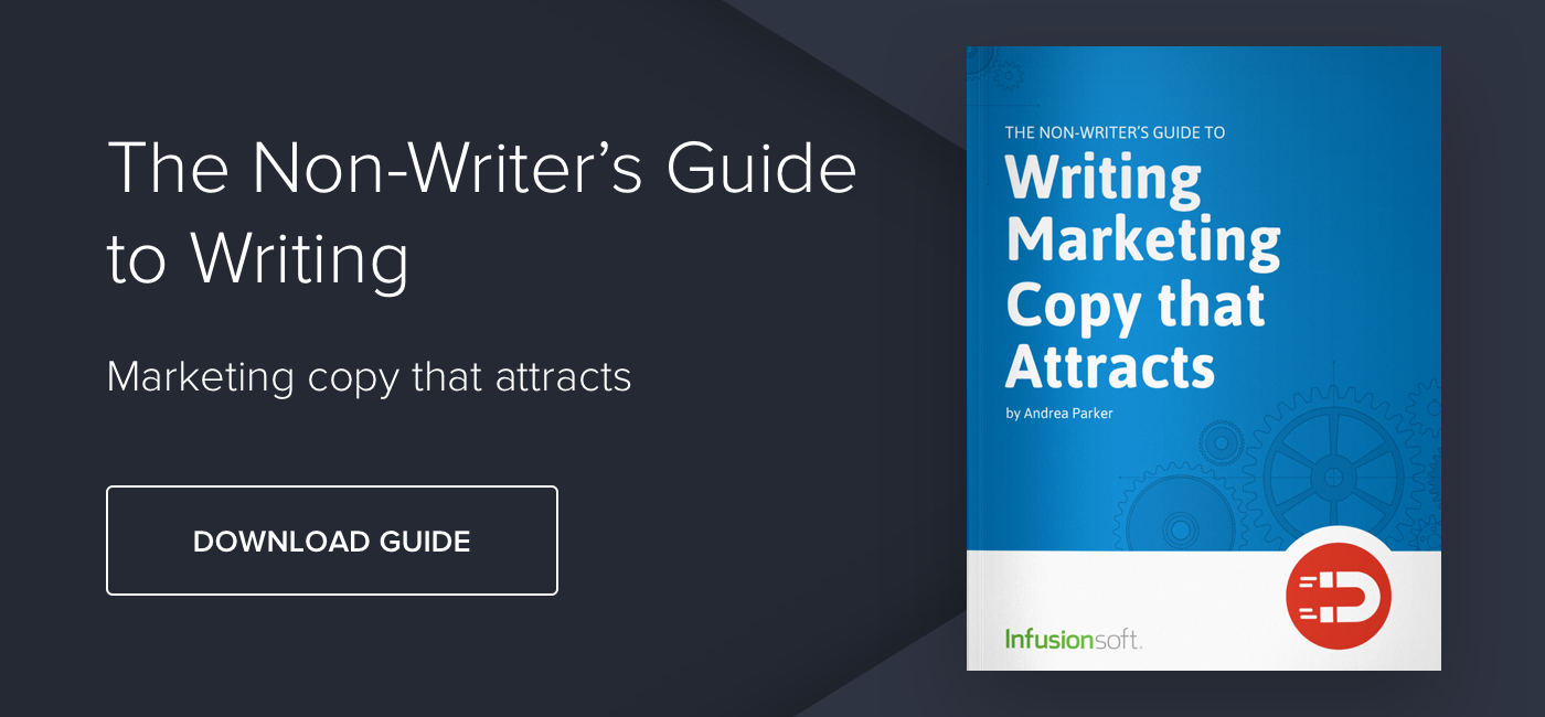 The Non-writer's Guide to Writing Marketing Copy that Attracts - Download Now
