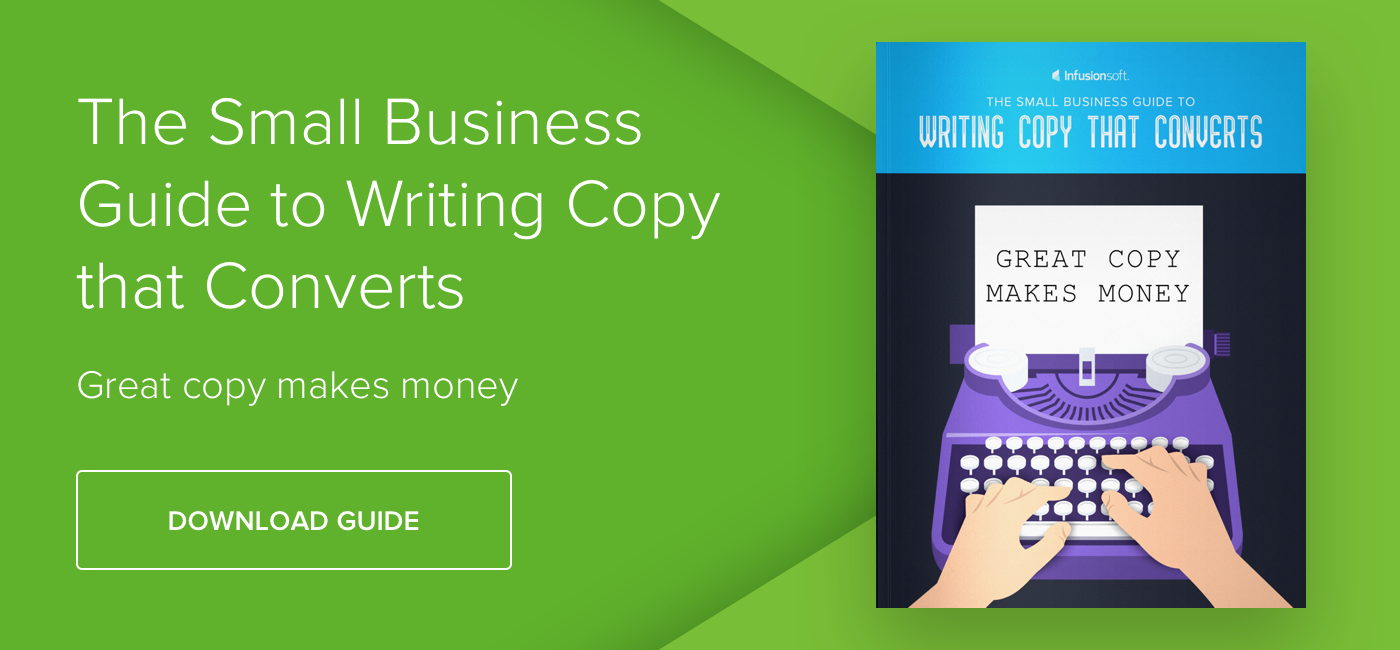 The Small Business Guide to Writing Copy that Converts - Download Now