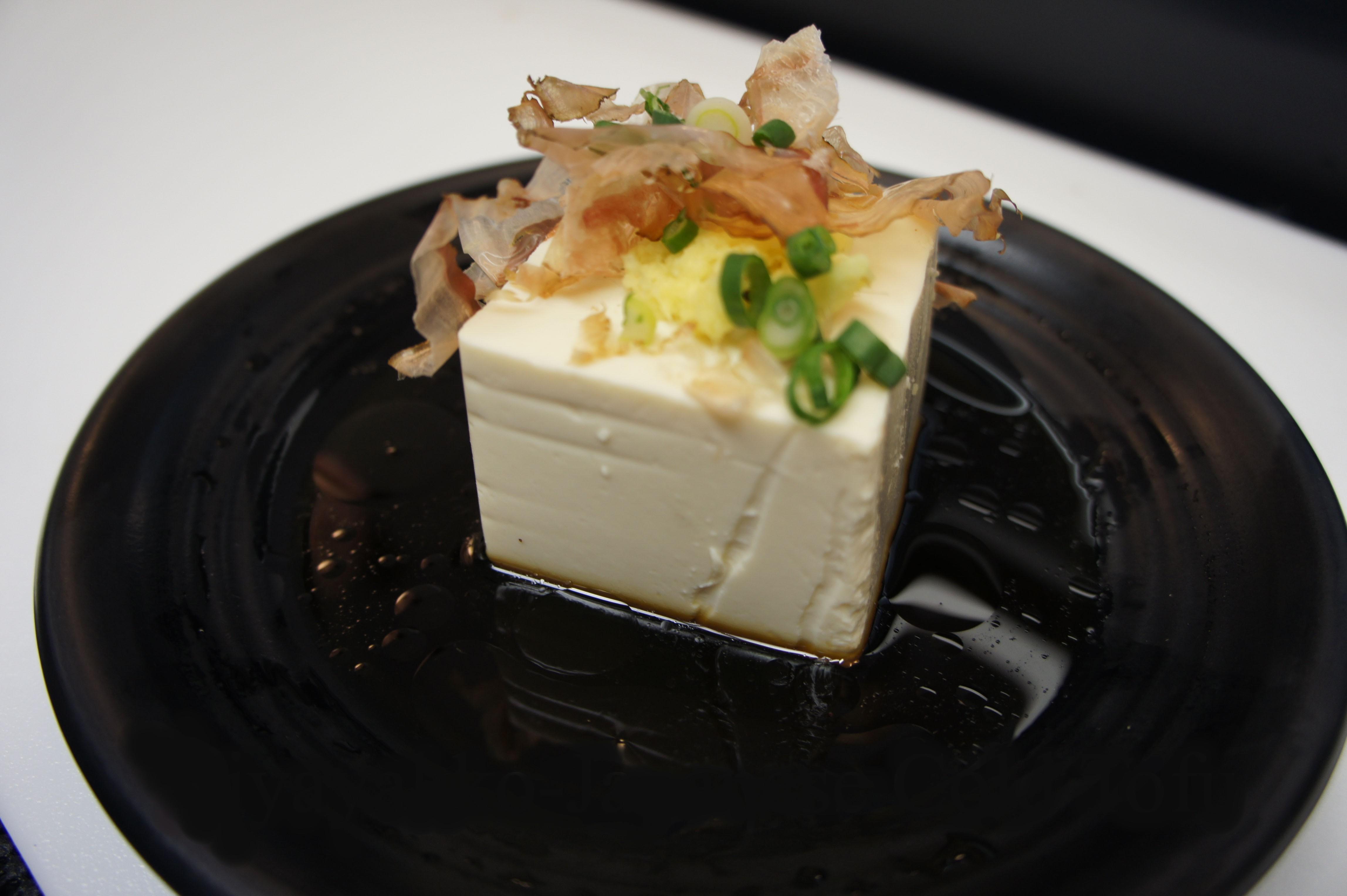 Tofu  (Cold) (Vegetarian upon request)