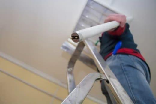 Light Bulb Installation