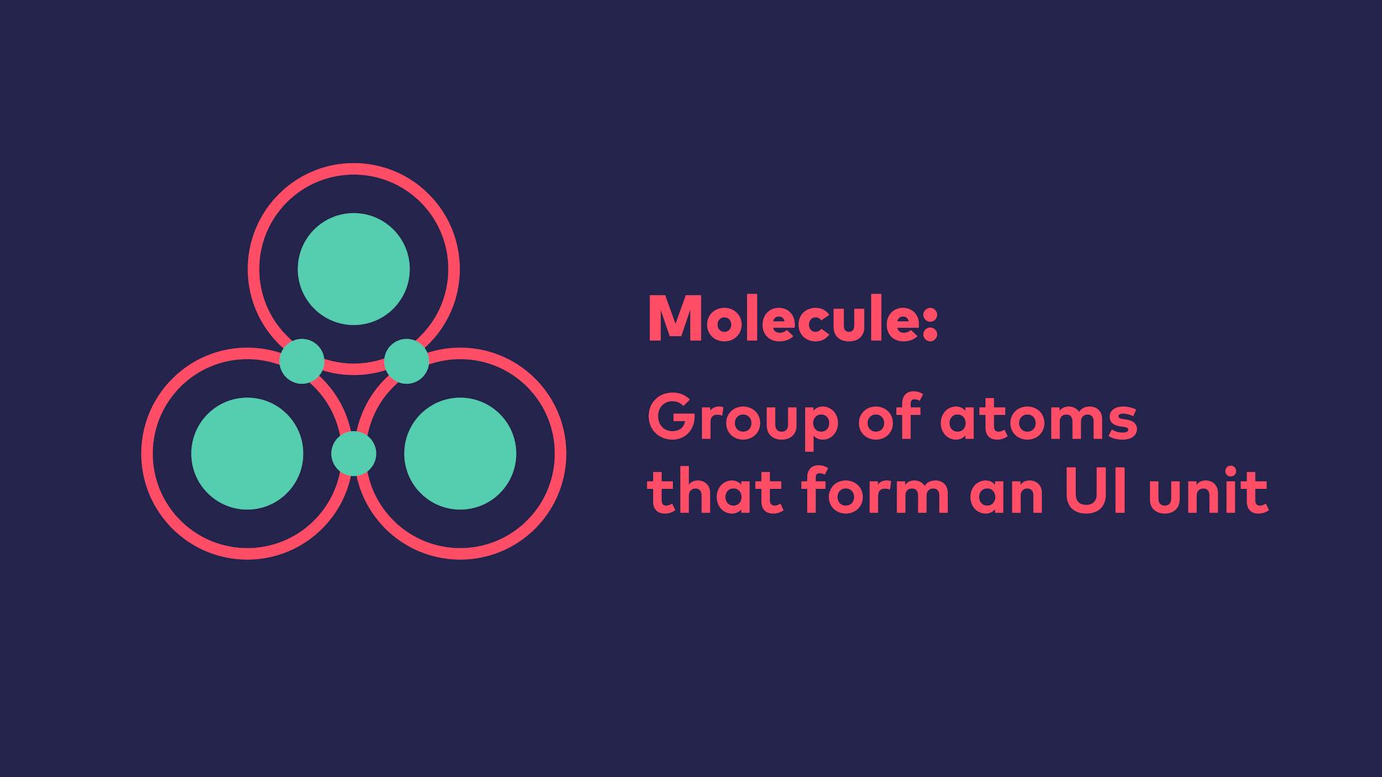 Abb. 7: Atomic Design - Molekül