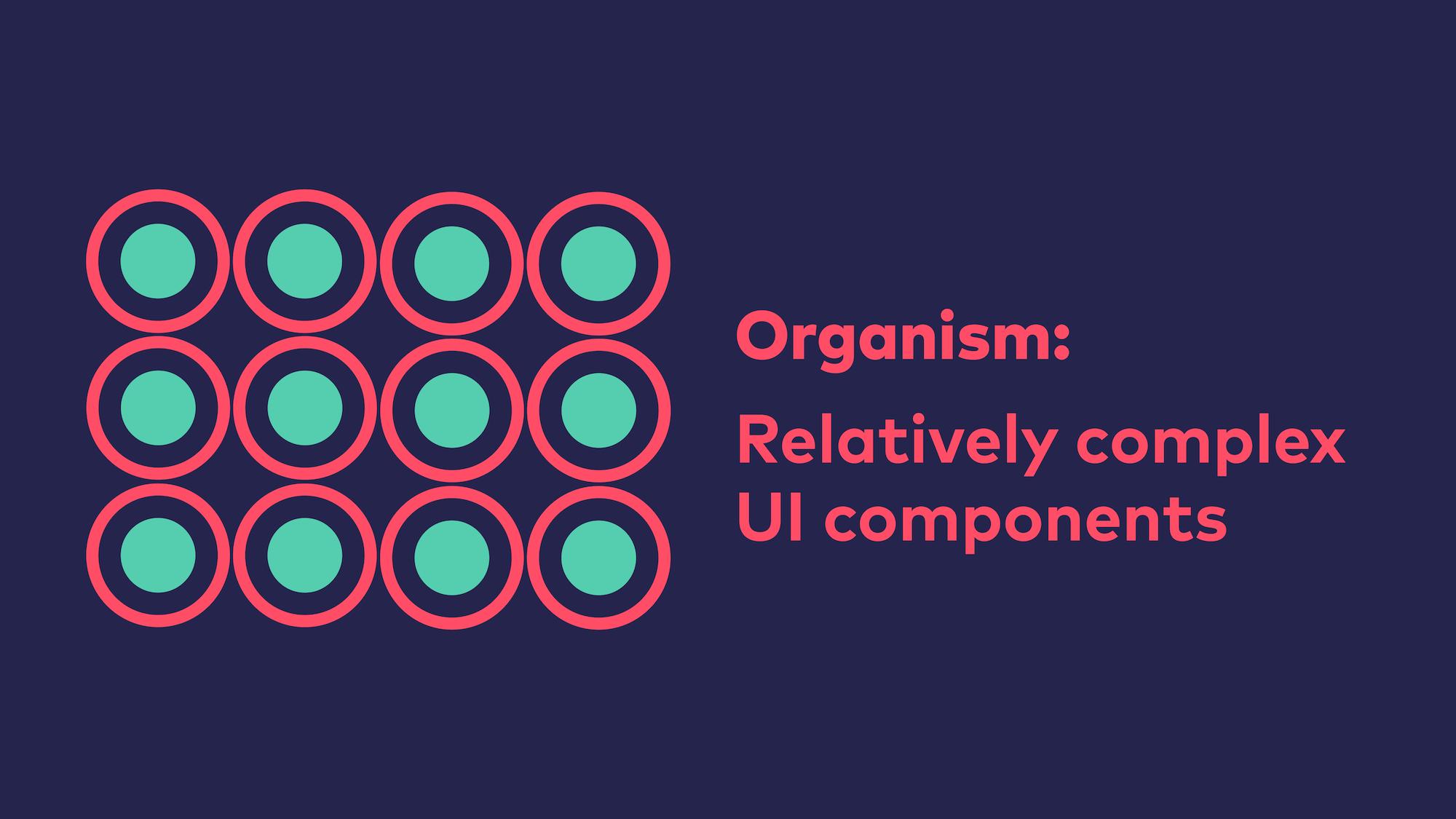 Abb. 9: Atomic Design - Organismus