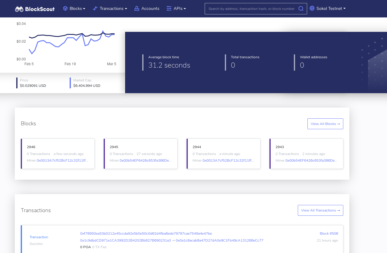BlockScout overview