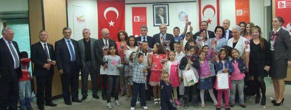 SOS Çocukköyü 23 Nisan'ı Limasol Bank'ta Kutladı