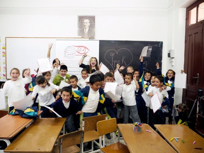 """Alsancak İlkokulu'ndaki """"Yaratıcı Okuma"""" Çalışmaları"""