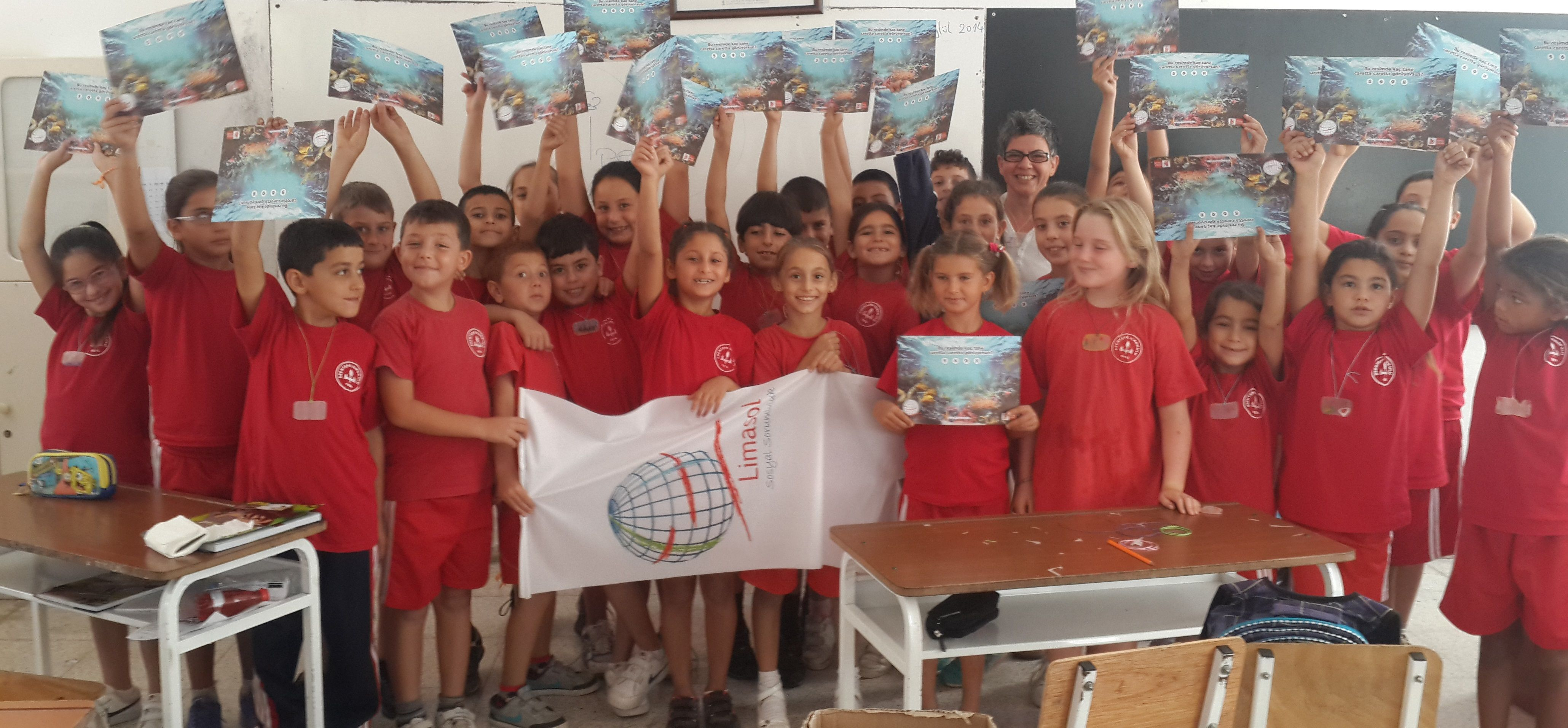 Girne Kalesine Hazırlık Esentepe İlkokulu Öğrencileri ile Tanışma