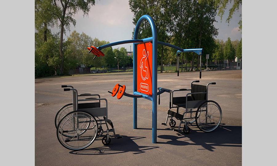 Gimnasios para personas con discapacidad inoplay - Equipamiento de gimnasios ...