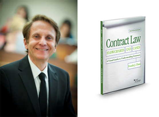 Fowler School of Law Professor Frank Doti Publishes Fourth Edition of Contract Law Textbook