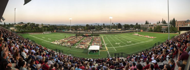 For Chapman University's class of 2020, the journey begins at Convocation 2016