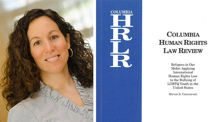 Fowler Law Professor Marisa Cianciarulo Publishes Article in Columbia Human Rights Law Review
