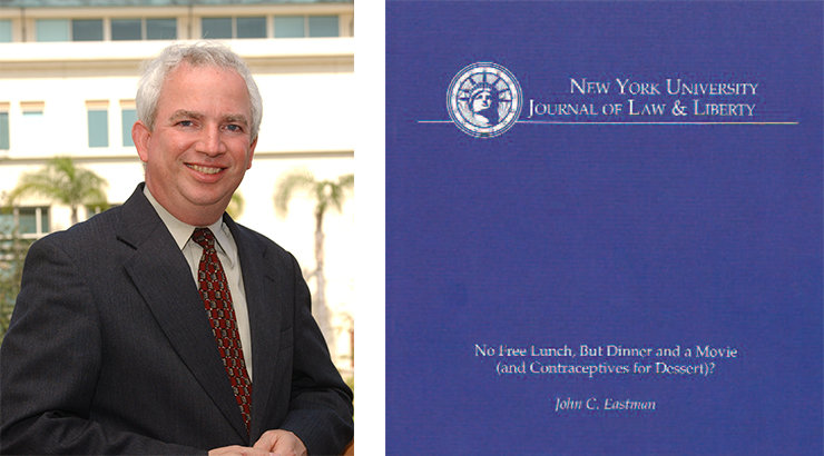 Fowler Law Professor John Eastman Publishes Article in New York University Journal of Law & Liberty