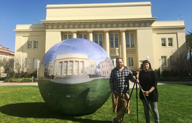 What's the big orb on the lawn? We rounded up an answer for you