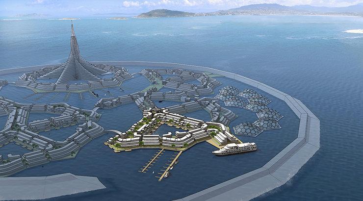 Chapman Law Professor Drafts Memorandum of Understanding for Innovative Floating City Plan