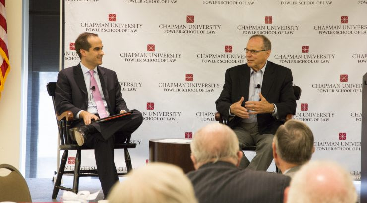 Presentation by Executive and Sports Industry Pioneer Alan Rothenberg Kicks Off the Annual Chapman Dialogue Series