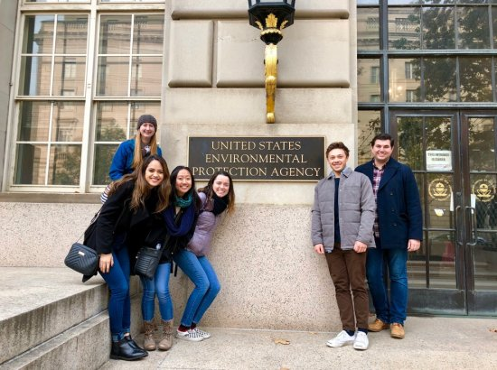 Students Travel To D.C. For Citizens' Climate Congressional Education Day