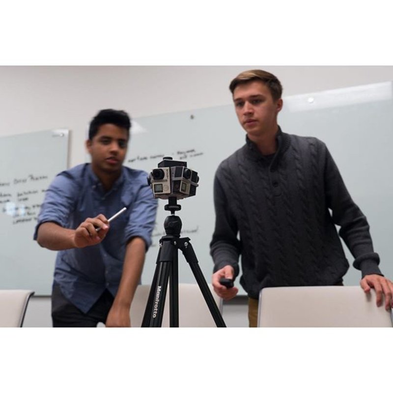 Some of our students are at the forefront of technology, taking 360 video of our facilities. Read about it on the blog today!