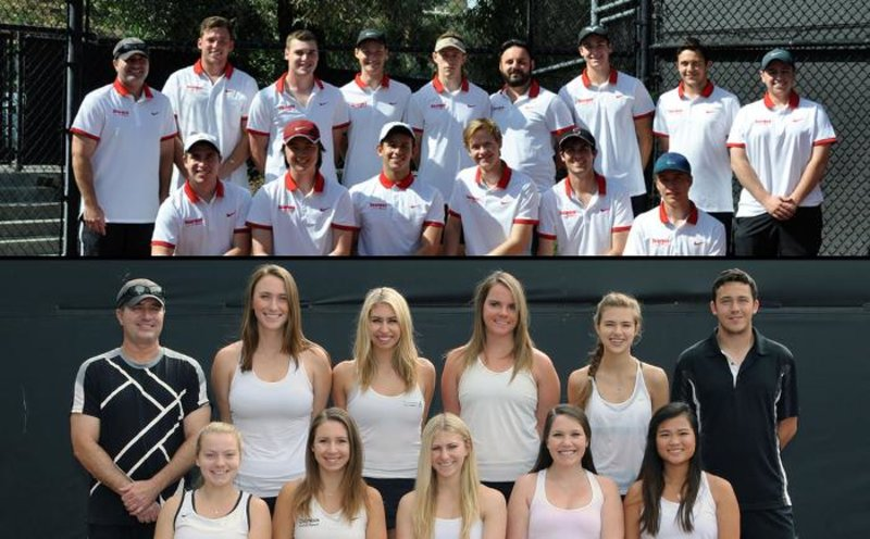 Congrats to our 15 tennis players and both teams for bringing in the academic honors!