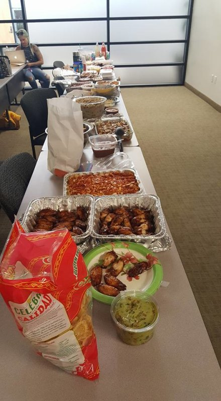 Pictures from Dr. Jonathan's annual Multicultural Potluck, which took place today, in Multicultural Counseling Class. This event is a time where students bring food that is meaningful to them and we celebrate the semester together!