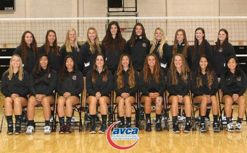 Congrats also go out to the women's volleyball team for another academic award!