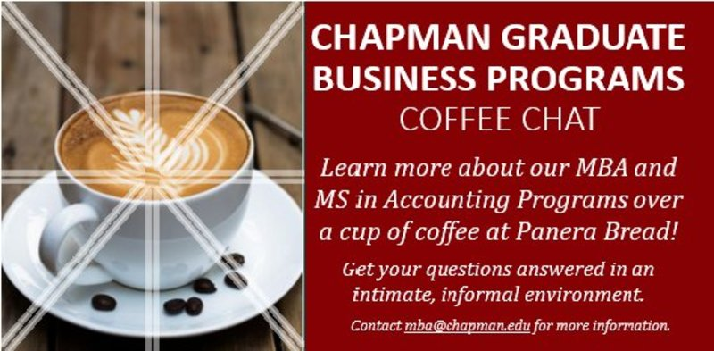 Remember: Tomorrow at 8:30am is the Graduate Programs Coffee Chat at Panera in Lake Forest!  https://t.co/w5MrAjVQy1 https://t.co/pOiF2etNk4