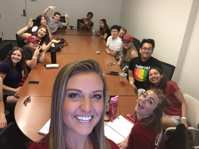 RT @NicoleERenard: S/O to the best orientation group ever!! ❤️🎉 @CU_DodgeCollege @ChapmanU #DoStuff https://t.co/Iys9Pp3mHy