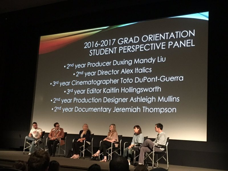 2nd and 3rd year grads are talking about their experiences to the incoming grad students today! https://t.co/NtftPwlbiR