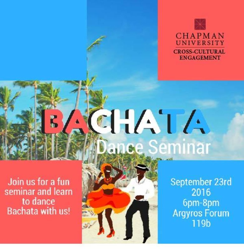 Happening tonight!   Join Cross Cultural Engagement for a fun seminar and learn to dance Bachata with us! #Bachata #Latinxhertiagemonth   Tag a friend! A BAILAR!