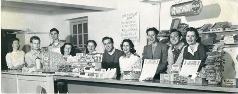 #TBT: 1949 - staff of the Student Store on the LA campus.