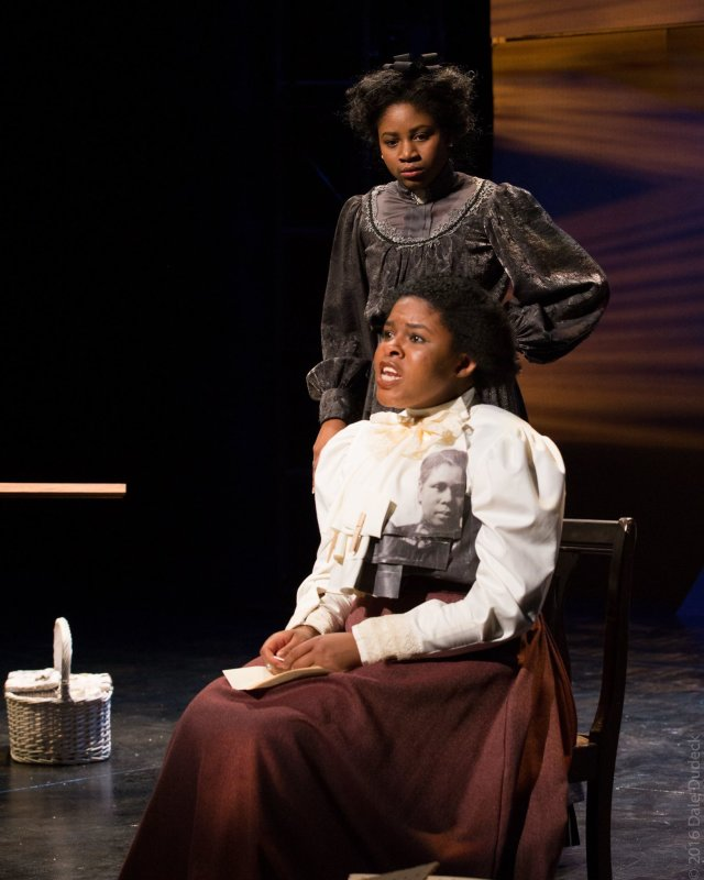 Scenes from tonight's opening of Intimate Apparel by Lynn Nottage! Show runs 12/1-3 and 8-10 in Waltmar Theatre. Visit chapman.edu/tickets  PC: Dale Dudeck