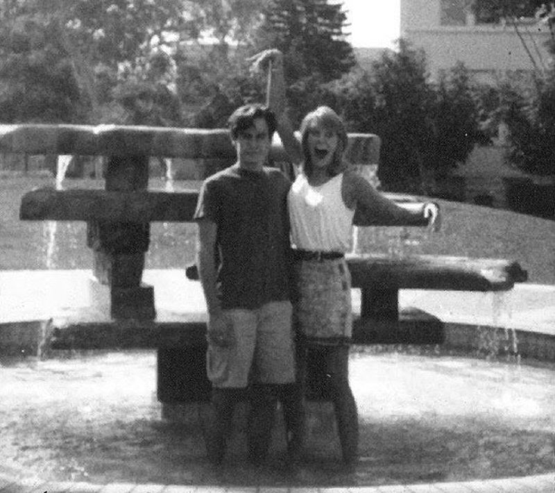 #tbt to fountain hopping in 1989! Are you excited to jump back into the spring semester?