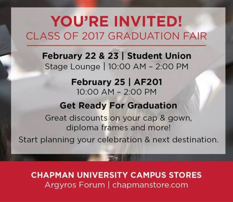 UPB is tabling at Graduation Fair this Wednesday, Thursday, and Saturday! The first 300 people total to visit our tables get a FREE class of 2017 wine glass at Spring Sizzle!