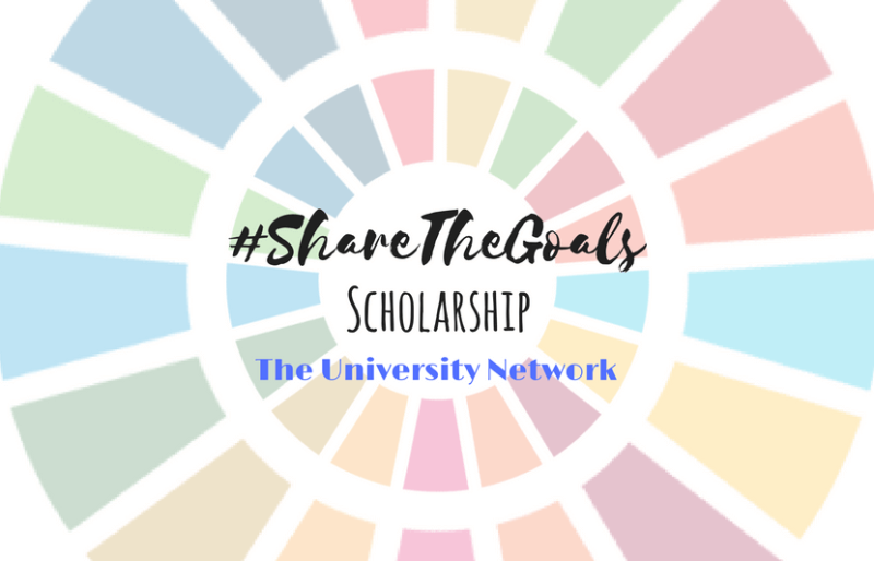 #ShareTheGoals Scholarship! Have monthly winners then one grand winner! Check it out! https://www.tun.com/blog/sharetheglobalgoals-scholarship/