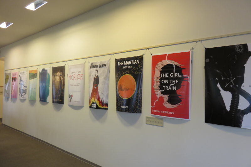 Student Reading Revamp Exhibition Premiers at the Leatherby Libraries