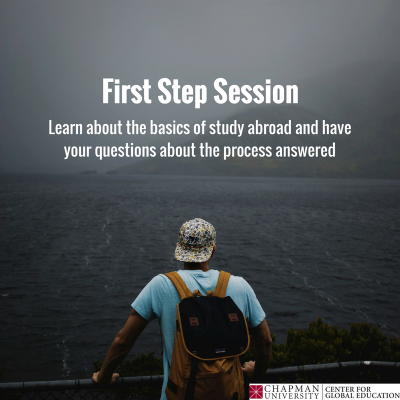 It's not too late to sign up for a First Step Session! Appointments available this week. RSVP now at bit.ly/cuabroad and begin your journey! ✈️️🌎