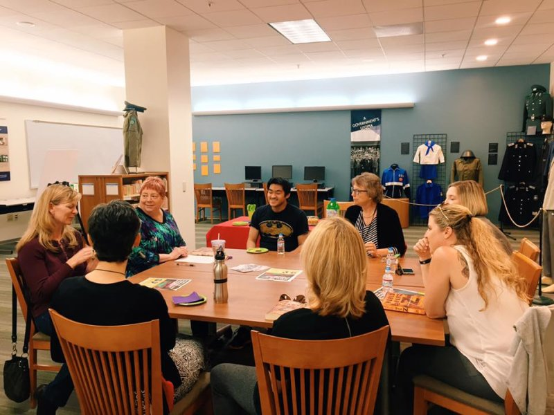 Our first World War Z book club meeting happening now! Fun fact: Did you know that Max Brooks, author of the book, firmly believes in