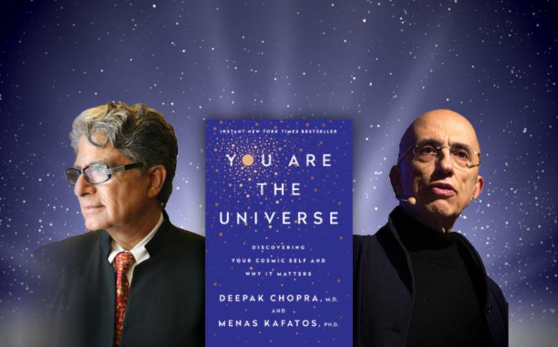 Spend the evening with Deepak Chopra and Menas Kafatos, authors of