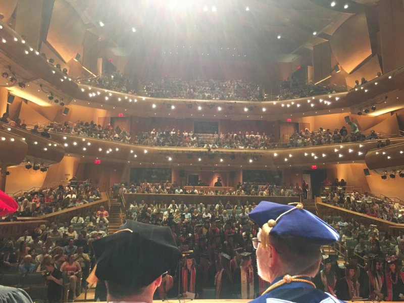 RT @drlouiset: Chapman commencement underway! Big excitement for students and their families #CoPA #chapmanu https://t.co/6VVCRQN24E