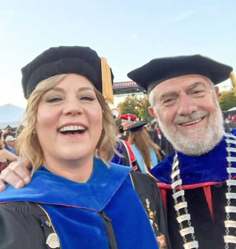 It was a weekend of firsts for my family! This year's commencement was my first as President of Chapman University. It was also the first commencement for the Chapman University School of Communication. So glad I was able to celebrate with the dean (who is also my lovely wife) Dr. Lisa Sparks.