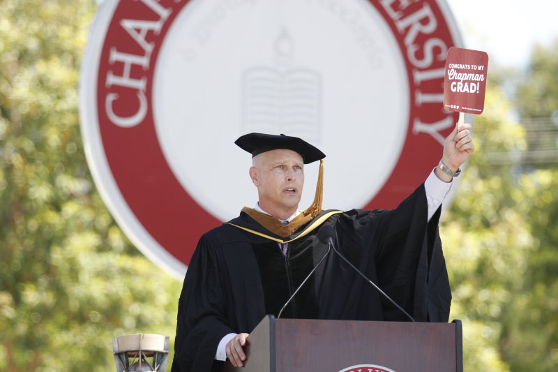 The Plan, Your Passion, Opportunities and Optimism: Paul Cook's 2017 Commencement Address: