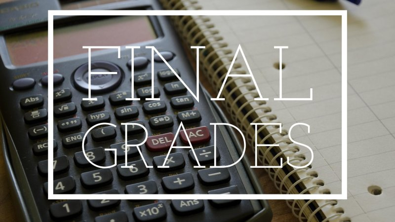 Final Grades Blackboard Checklist