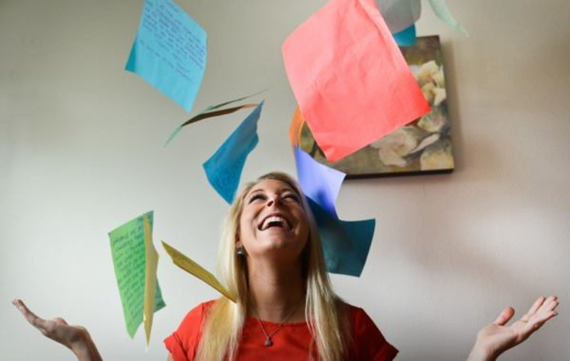 In honor of Independence Day, we are highlighting Dodge College alumna and 2016 Schweitzer Rising Star award recipient Shauna Parisi '11.  At 15 years old, Shauna started a small service project in Orange County to collect and distribute cards and letters of appreciation to U.S. military stationed around the world. She called the project