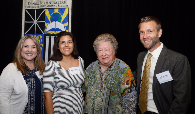 Donors and Students Gather for Second Annual Attallah College Scholarship Luncheon