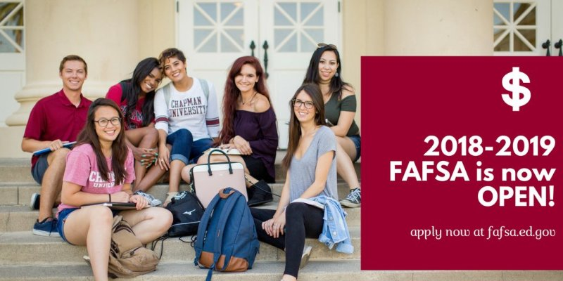 RT @ChapmanAdmit: Future Panthers! The 2018-2019 @FAFSA is now open! Apply now: https://t.co/C70CRkGIuy https://t.co/U973skEfY9