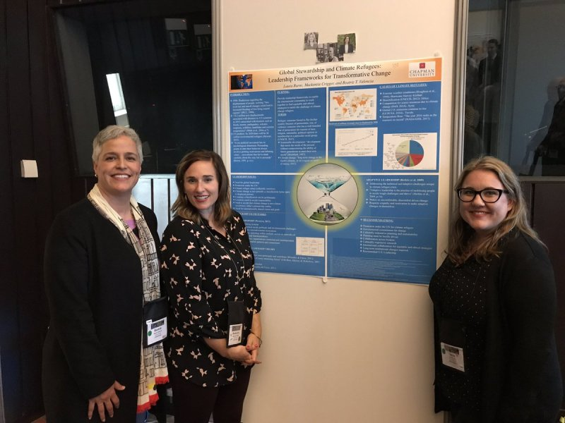 RT @WMcIntyreMiller: @ChapmanCES doc students presenting their student case competition poster at #ILA2017Brussels! https://t.co/mDkDmZeYcu